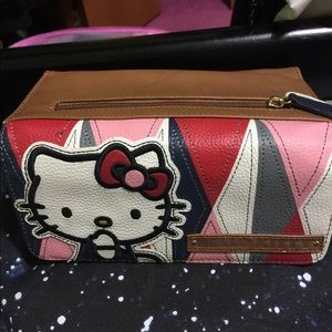Hello kitty loungefly billfold